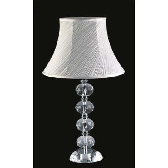 All the rages elegant designs stacked four ball crystal table lamp aloadofball Images